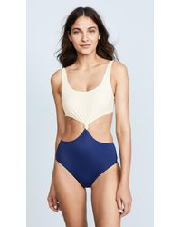 d27c4644f5ae0 Solid   Striped The Bailey in Blue - Lyst