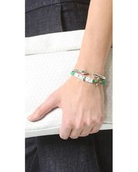 Venessa Arizaga - Green Let It Bee Bracelet - Lyst