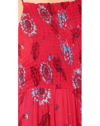 Free People - Red Garden Party Maxi Dress - Lyst