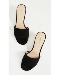 Botkier - Black Carlie Block Heel Slides - Lyst