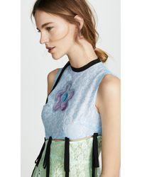 Sandy Liang - Blue Rainie Dress - Lyst