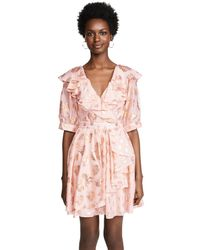 Temperley London - Pink Riviera Mini Dress - Lyst