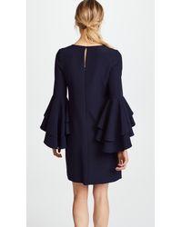 MILLY - Blue Italian Cady June Dress - Lyst