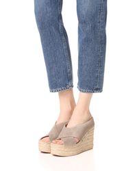 Sigerson Morrison - Multicolor Atifa Espadrille Wedge Sandals - Lyst