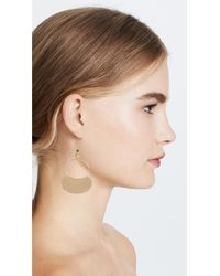Elizabeth and James - Metallic Alana Earrings - Lyst