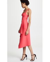 Dion Lee - Pink Bustier Dress - Lyst