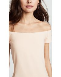 Susana Monaco - Natural Keira Off The Shoulder Dress - Lyst