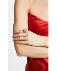 Kenneth Jay Lane - Multicolor Garden Ring - Lyst