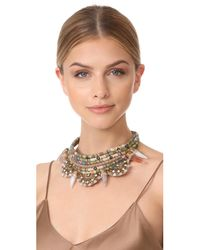 Deepa Gurnani - Natural Jarah Necklace - Lyst