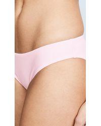 Splendid - Pink Colorblocked Retro Bottoms - Lyst