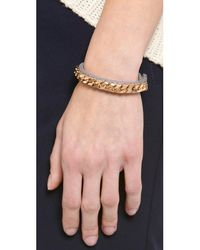 Vita Fede - Gray Monaco Single Bracelet - Lyst
