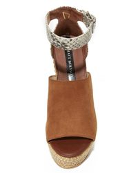 Matt Bernson - Brown Regent Wedges - Lyst