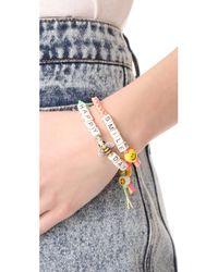 Venessa Arizaga - Multicolor Happy Bee Day Bracelet - Lyst