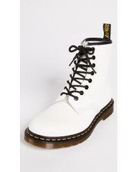 Dr. Martens - White 1460 8 Eye Boot - Lyst