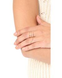 ONE SIX FIVE Jewelry - Metallic The Eva Ring - Lyst