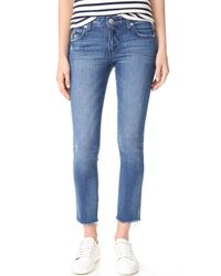 AMO | Blue Stix Crop Jeans | Lyst