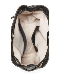 Shinola - Black Mini Drawstring Cross Body Bag - Lyst