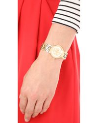 Tory Burch - Metallic The Small Reva Watch - Lyst