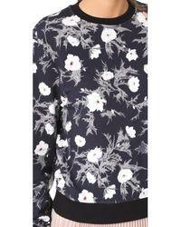 Carven - Black Long Sleeve Sweatshirt - Lyst
