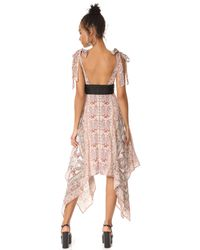 Free People | Multicolor You For Me Printed Maxi Dress | Lyst