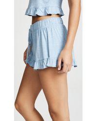 Honeydew Intimates - Blue Cat Nap Shorts - Lyst