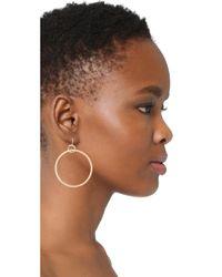 Elizabeth and James - Metallic Lueur Earrings - Lyst