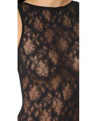 Cosabella - Black Montie Sleeveless Bodysuit - Lyst