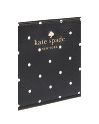 Kate Spade - Black Card Holder - Lyst