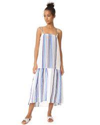 Lemlem - Blue Candace Maxi Dress - Lyst