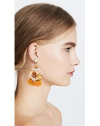Lizzie Fortunato - Multicolor French Marigold Earrings - Lyst