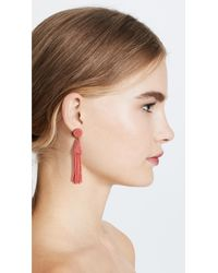Deepa Gurnani - Pink Deepa By Rose Earrings - Lyst