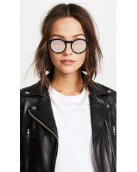 Quay - Brown Kosha Comeback Sunglasses - Lyst