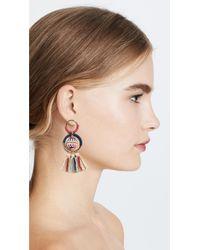 Rebecca Minkoff - Multicolor Blair Beaded Ball Statement Earrings - Lyst