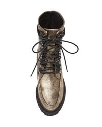 Free People | Metallic Fallon Hiker Boots | Lyst