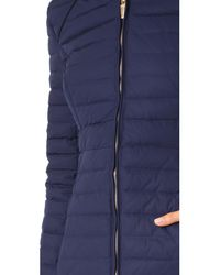 Hunter - Blue Original Fitted Down Coat - Lyst