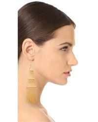 Noir Jewelry - Metallic Naval Earrings - Lyst