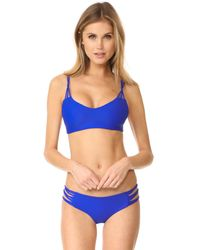 Mikoh Swimwear - Multicolor Velzyland Skinny String Loop Bottoms - Lyst