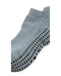 Pointe Studio | Gray Union Cushioned Grip Socks | Lyst
