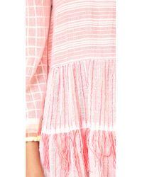 Lemlem - Pink Anan Mini Dress - Lyst