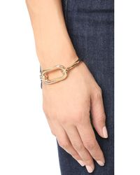 Pamela Love - Metallic Beaumont Cuff Bracelet - Lyst
