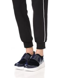 Free People - Blue Cannon Sneakers - Lyst