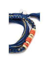 Aurelie Bidermann - Blue Takayama Bracelet - Lyst