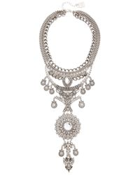 Adia Kibur - Metallic Reese Statement Necklace - Lyst