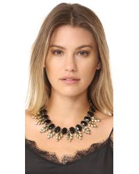 Adia Kibur - Black Bailey Necklace - Lyst