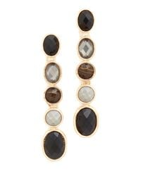 Adia Kibur | Black Ellie Earrings | Lyst