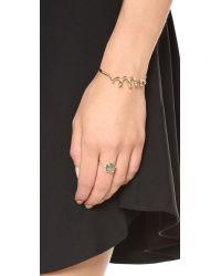 Alexis Bittar - Metallic Encrusted Spiral Cuff Bracelet - Lyst