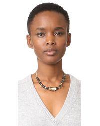 Alexis Bittar - Multicolor Custom Sequin Strand Pendant Necklace - Lyst