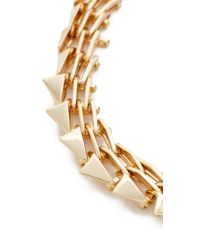 Alexis Bittar - Metallic Futurist Link Necklace - Lyst