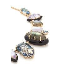 Alexis Bittar | Metallic Crystal Encrusted Spider Bib Necklace | Lyst