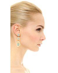 Alexis Bittar - Metallic Liquid Silk Dangling Earrings - Lyst